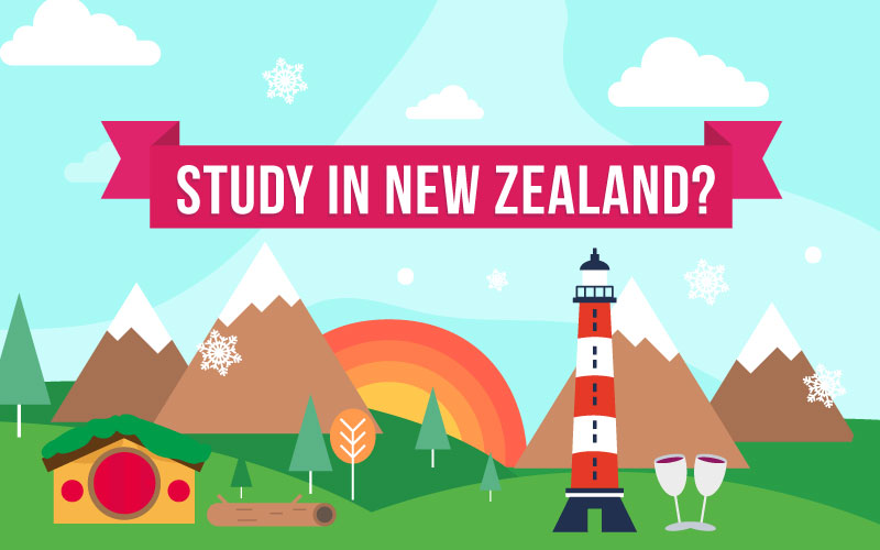 Study in the New Zealand - All you need to know about studying in the New Zealand